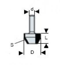 Фреза для углов Virutex Ø 26 мм