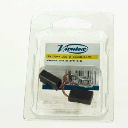 Щетки угольные Virutex для Погружной пилы SRI174T